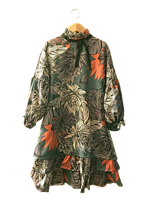 Meme Apparel Floral Prairie Dress - CrossBorderWear