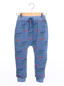 Siaomimi Denim Fox Sweatpants - CrossBorderWear