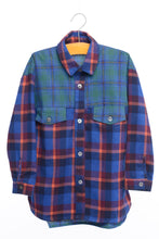Siaomimi Blue Plaid Shirt - CrossBorderWear