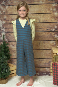 Plaid Jumpsuit - CrossBorderWear