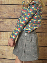 Plaid Skort - CrossBorderWear