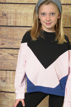 Color Block Sweatshirt - CrossBorderWear