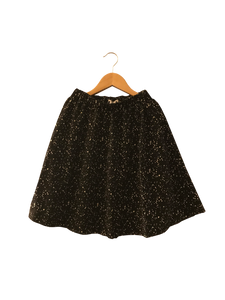 Meme Apparel Polka Dot Painted Skirt - CrossBorderWear