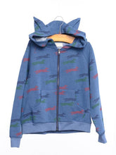 Siaomimi Fox Ear Zip Up - CrossBorderWear