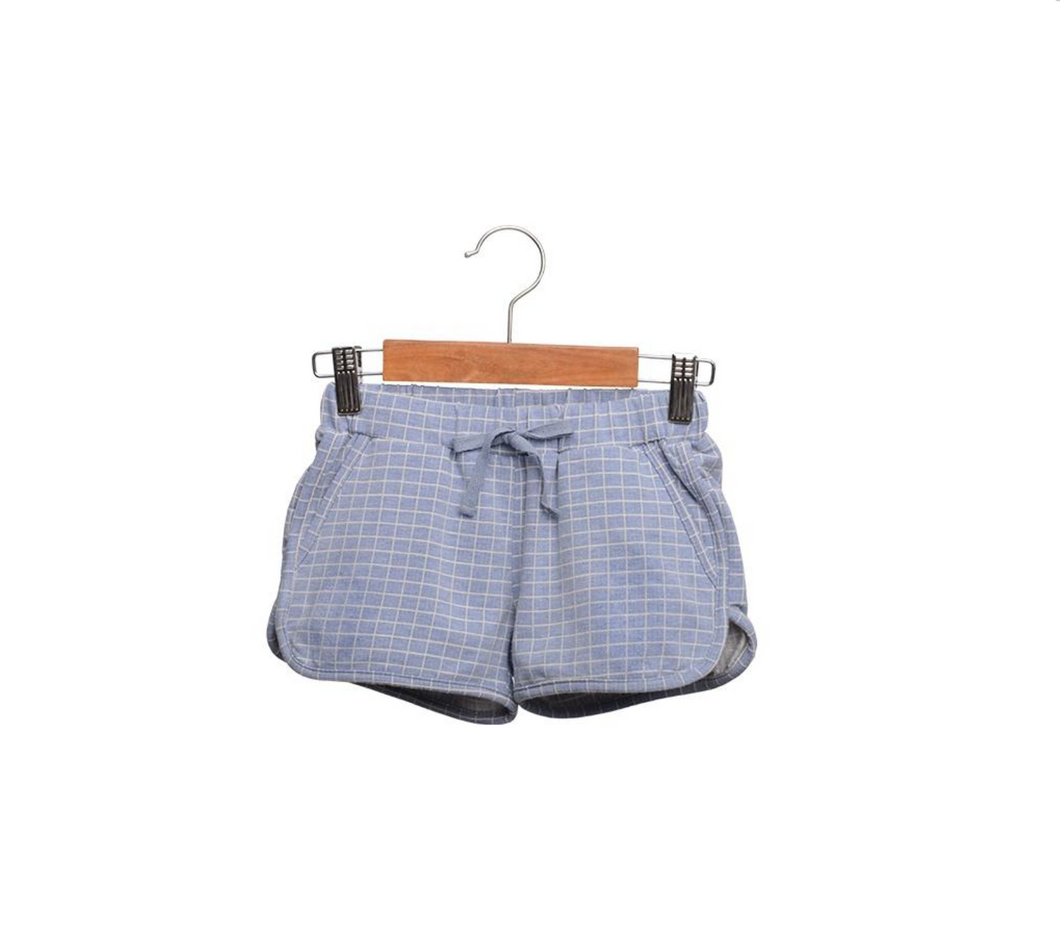 Siaomimi Check Gym Shorts - CrossBorderWear
