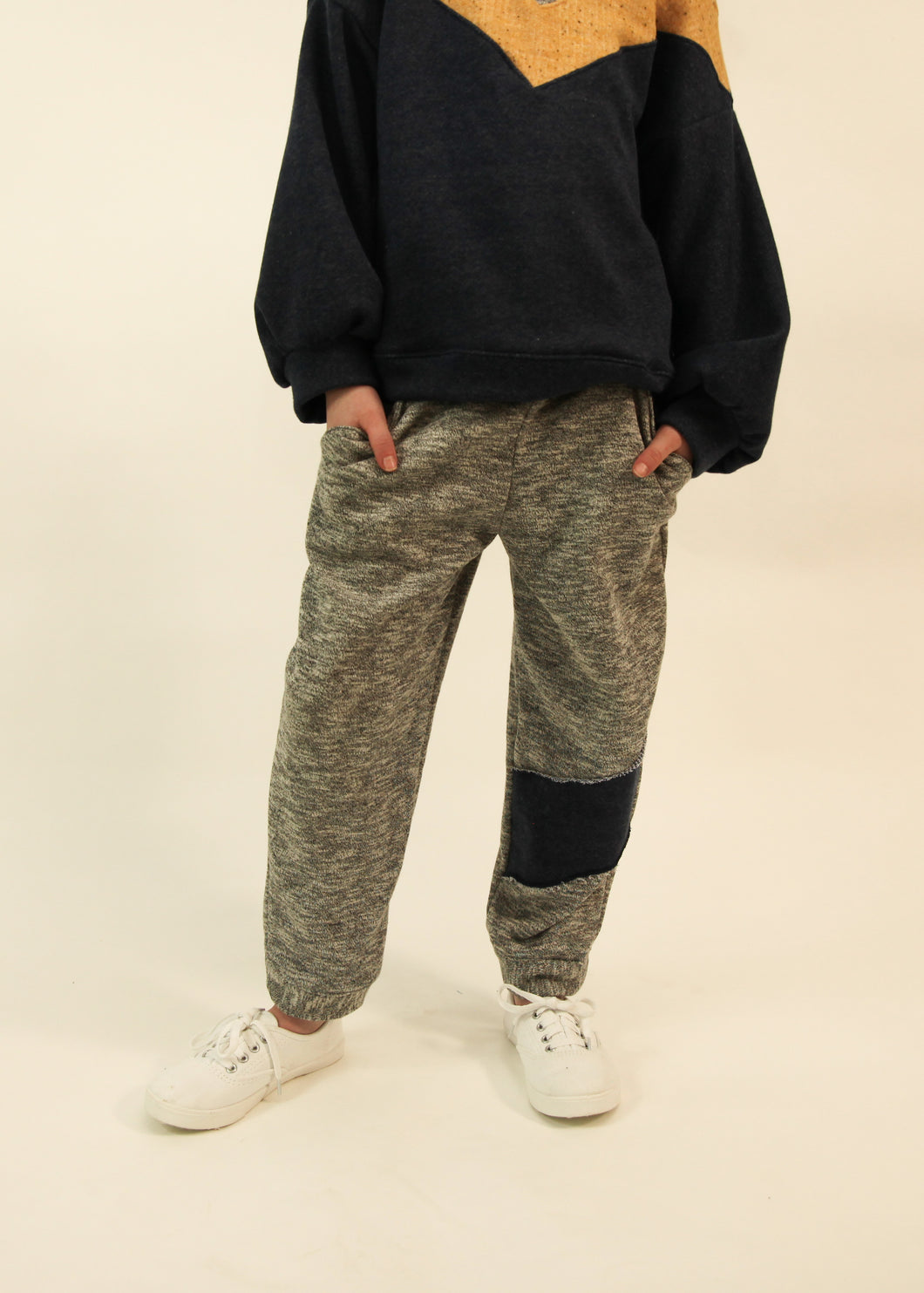 Color Block Joggers - CrossBorderWear