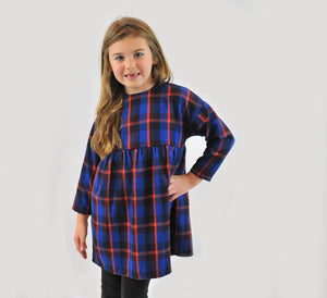 Siaomimi Isa Plaid Dress - CrossBorderWear
