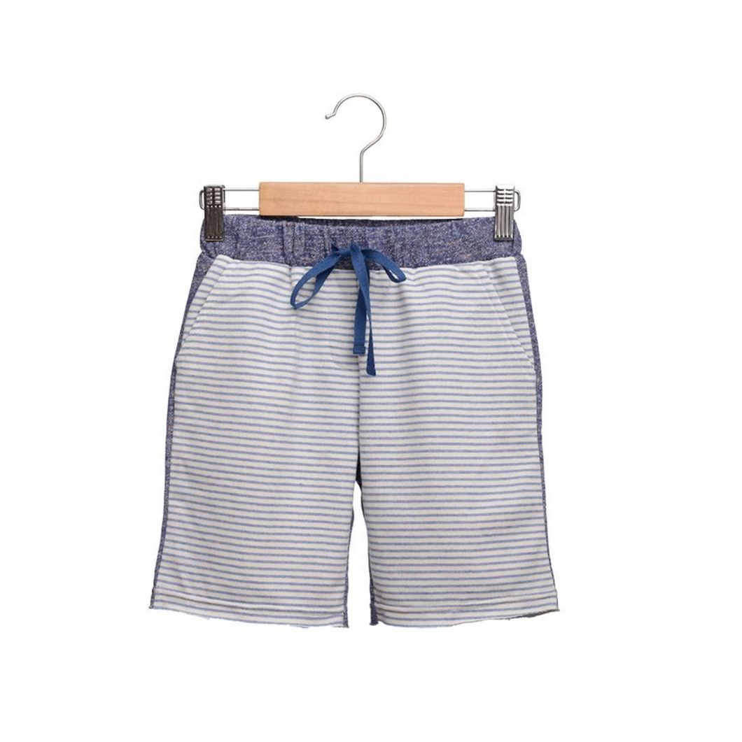 Siaomimi Striped Sweatshort - CrossBorderWear