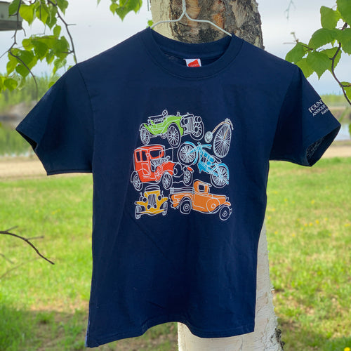 Kids Color Car Tee