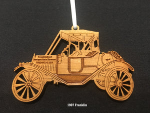 Wooden Car Ornaments