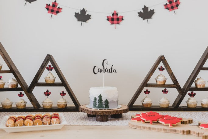Canada Day Party Styled Shoot