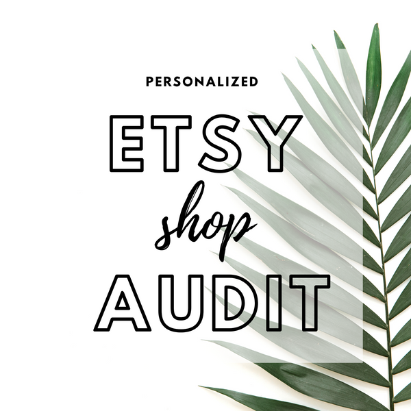 Etsy Audits + Coaching