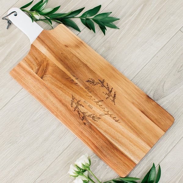 Personalized Wooden Cutting + Cheese Board | Cutting Board