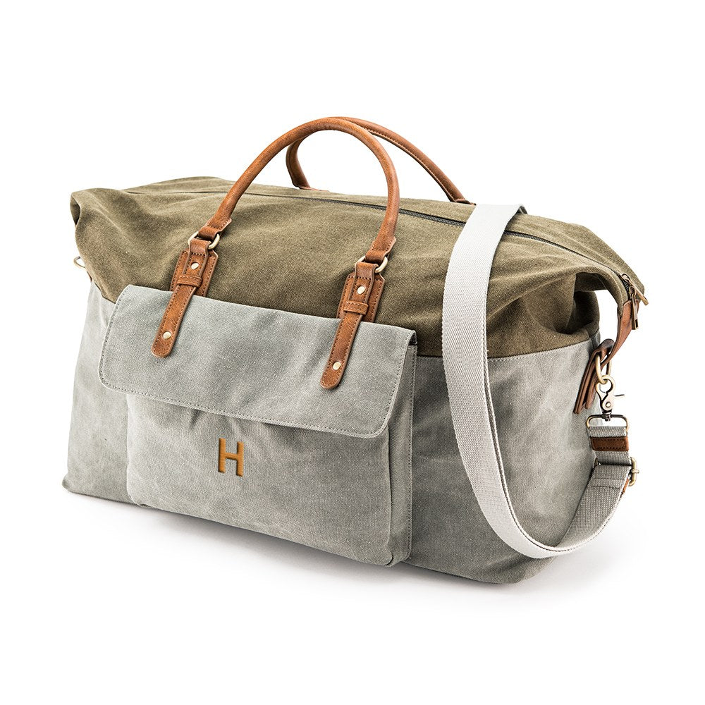 Personalized Weekend Canvas Bag | For Him