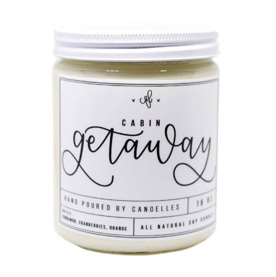Cabin Getaway | Soy Candle