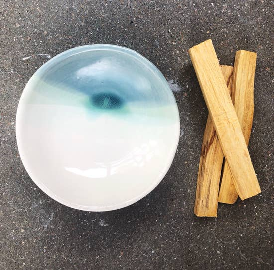 Ceramic Dish (Small) in Ocean