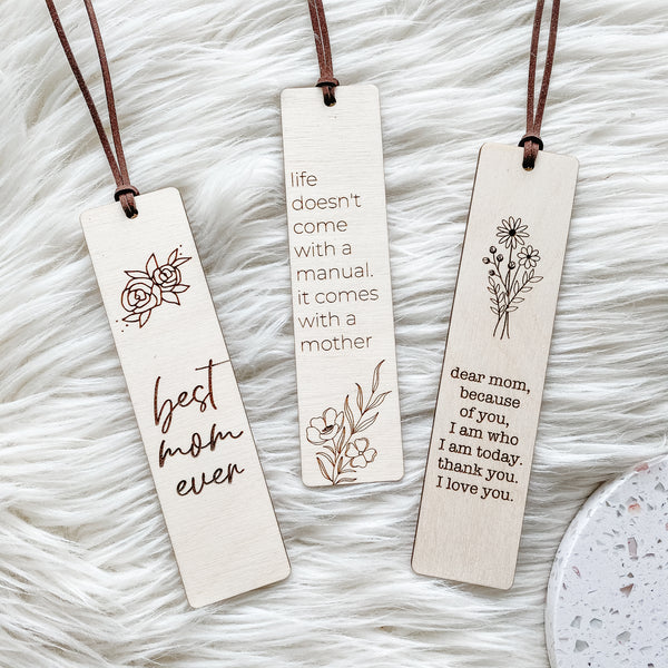 Mother's Day Bookmarks | Can Be Customized!