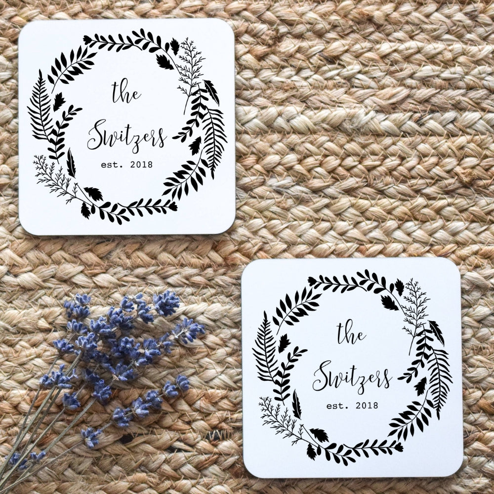 Personalized Wedding Coasters | Coasters
