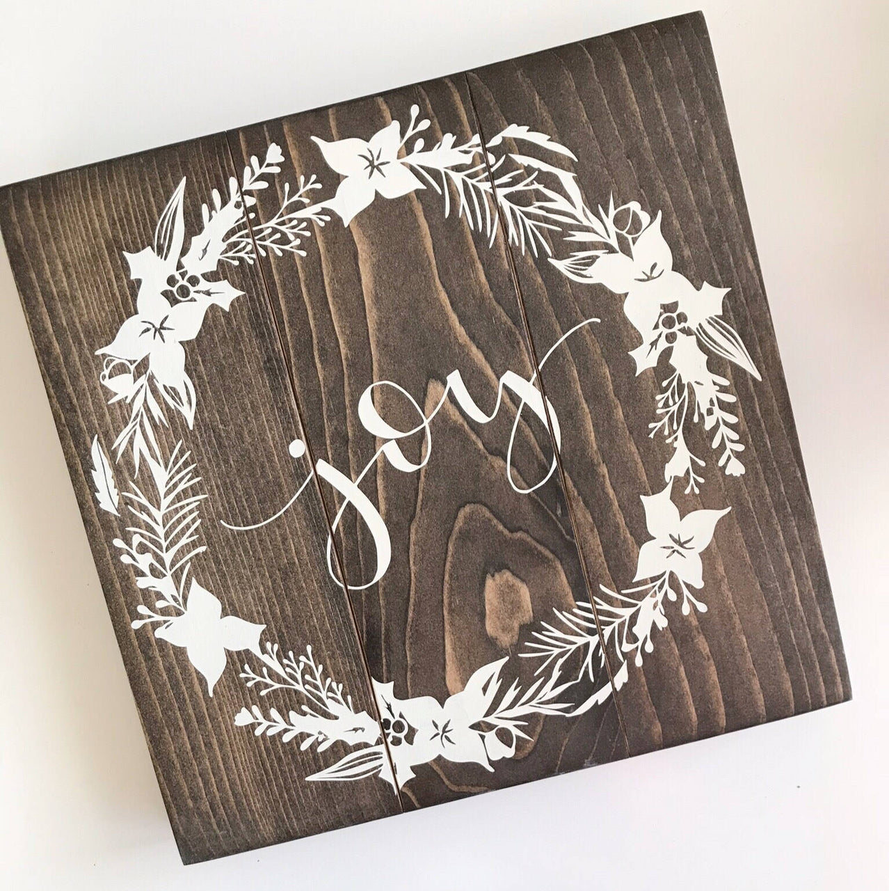 Joy Holiday Sign, Holiday Decor, Christmas Decor, Christmas Gift, Modern Xmas, Holiday Joy Sign, Joy Sign, Christmas Sign, Christmas Wall Ar