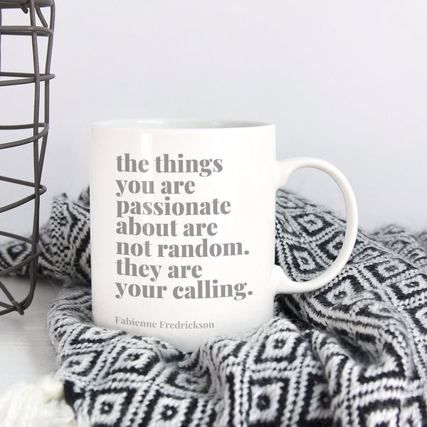 Find Your Calling Inspirational Mug | Ceramic Mug