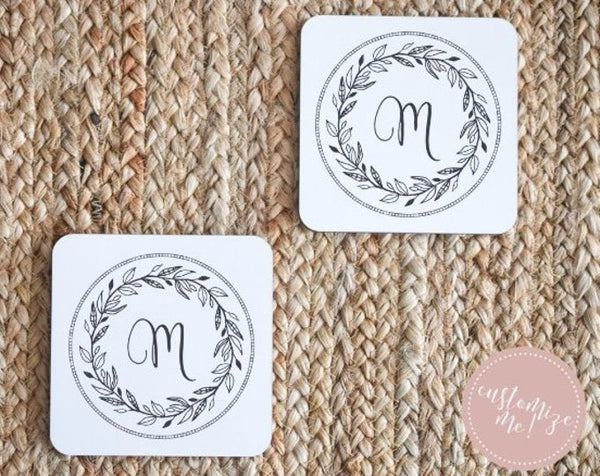 Personalized Wedding Coasters, Personalized Coasters, Personalized Wedding Gift, Personalized Anniversary Gift, Personalized Housewarming