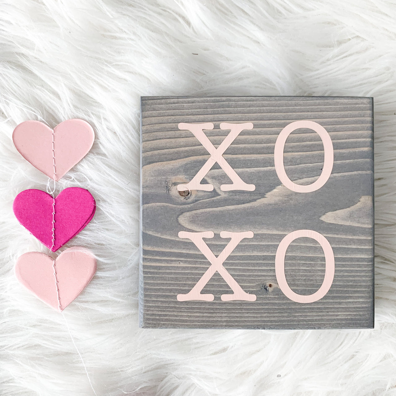 XOXO Mini Sign, XOXO Decor, Valentine's Day Decor, Valentine's Day Brunch, Valentine's Day Prop, Galentine's Day Brunch, Bridal Shower Decor