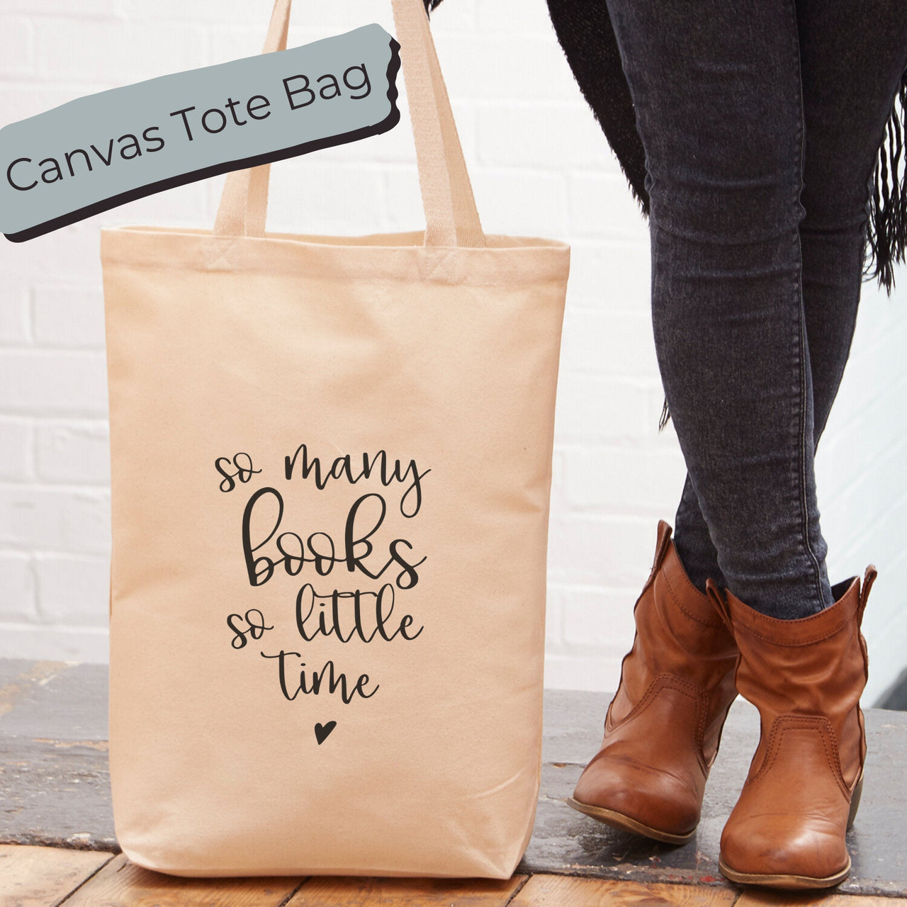 So Many Books, So Little Time Tote Bag | Tote Bag
