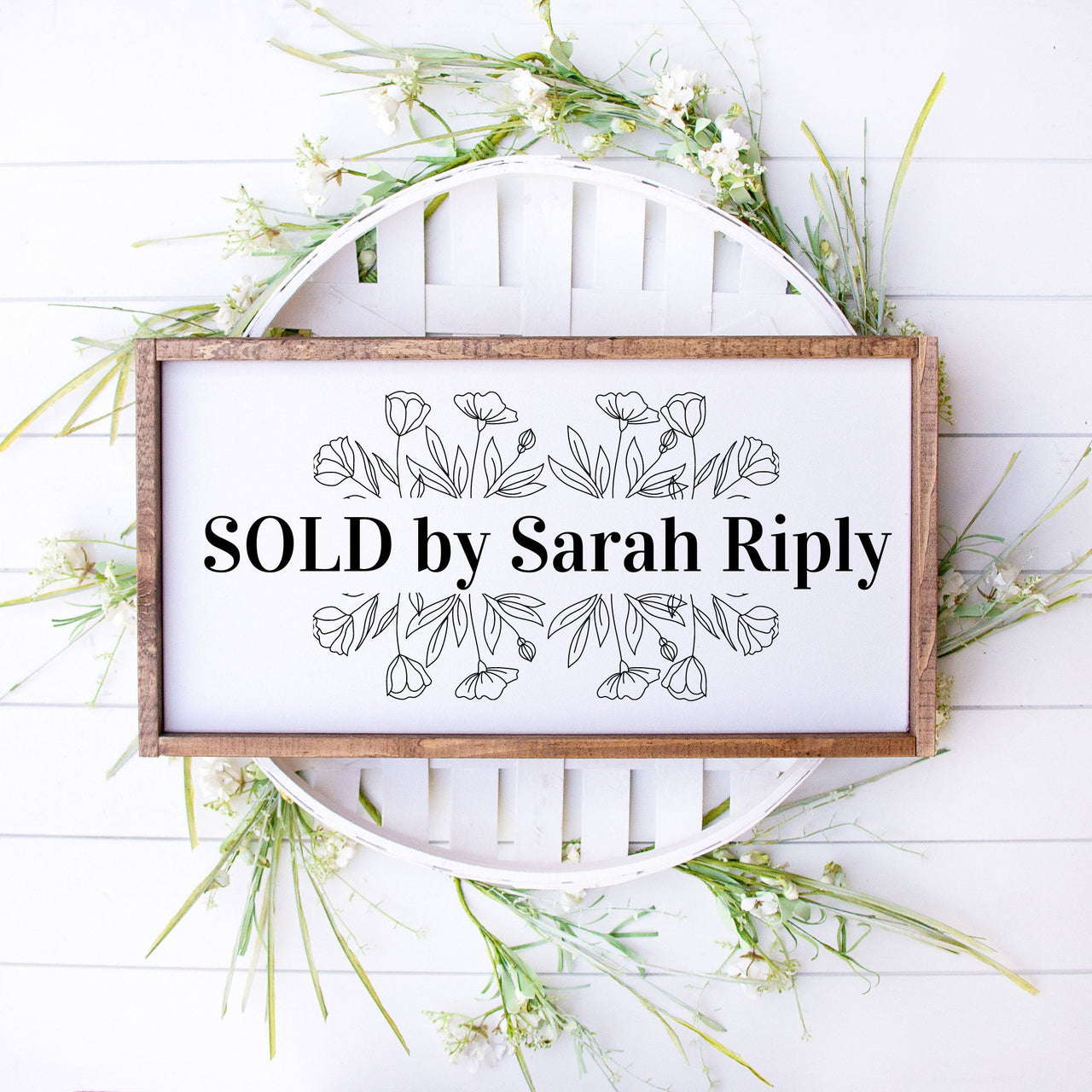 Realtor Sold Sign, We Said Yes to the Address Sign, New House, Real Estate Agent Sign, New Realtor Sign, Realtor Prop Sign, Cute Sold Sign