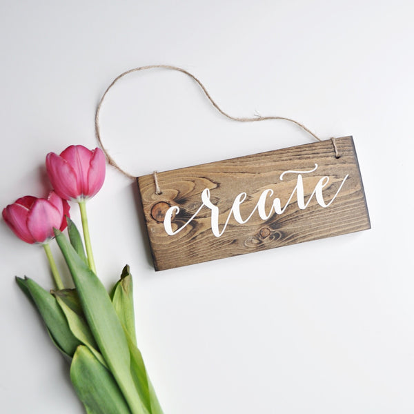 Create Hanging Sign