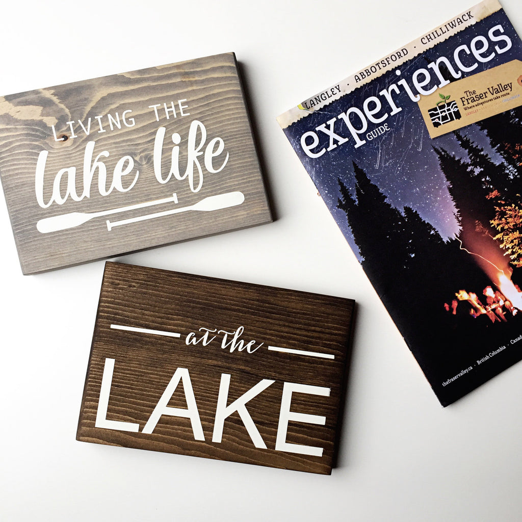 Lake Life, Lake Decor, Cabin Decor, Lake Home Decor, At The Lake, Life is Better, Better at the Lake, At the lake decor, Living Lake Life