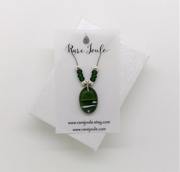Evergreen Pendant Necklace