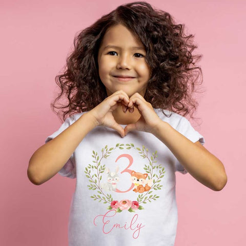 Girls birthday t -shirt