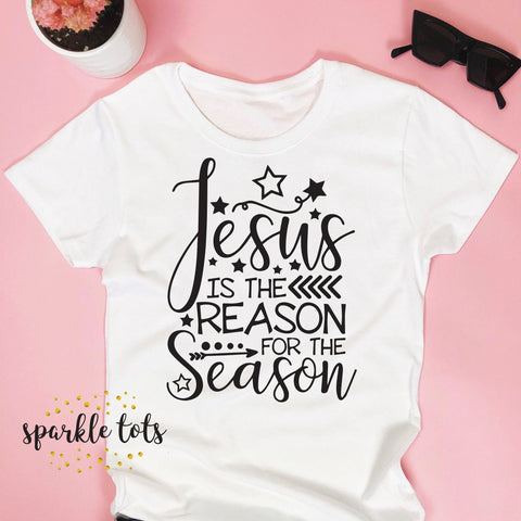 Christmas Shirt Jesus is the Reason for the Season