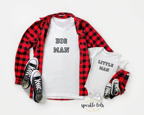 Big Man little man set