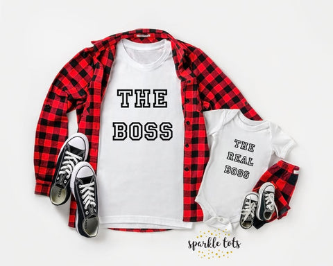 Boss And Real Boss T-shirts