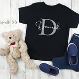 Boys personalised top