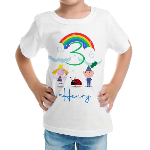 Ben and holly birthday shirt