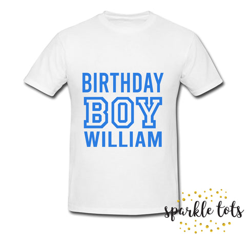 boys birthday shirt - birthday t shirt - birthday boy top - boys birthday outfit - boys cake smash - 1st birthday, 2nd, 3rd, 4th, 5th, 6th