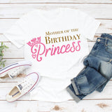 Mother of the birthday girl shirt