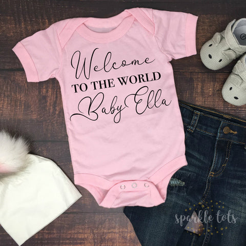 Baby Girl Newborn Outfit, Baby Girl Clothes