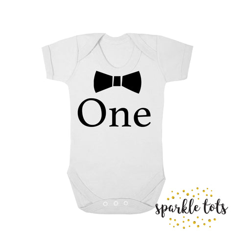 Personalised First Birthday T Shirt | Top One Today | Name or Nickname | Boys birthday baby grow | baby vest | birthday romper | shirt