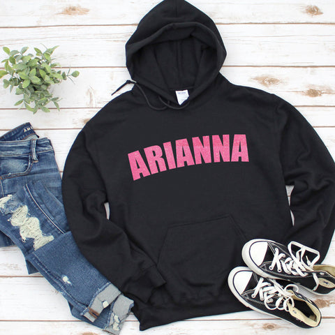 Custom girls hoodie, Girls birthday gift
