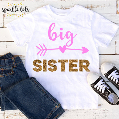 big sister shirt, gifts for big sister