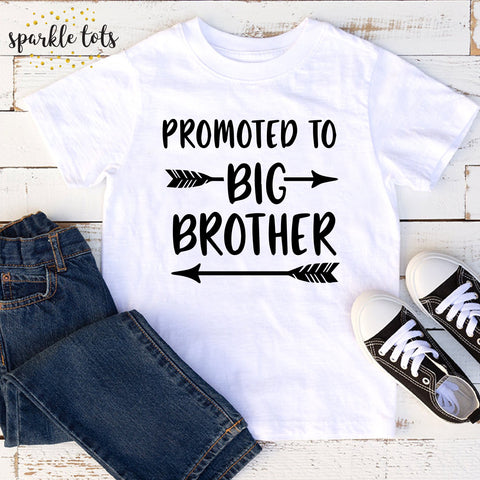 Promoted to big brother, Brother shirt, Sibling Shirt, Big Brother