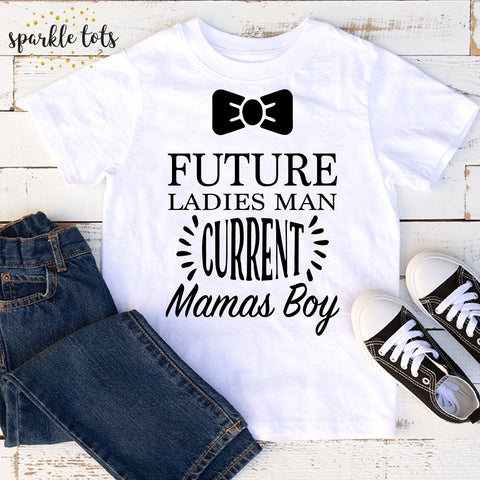 Future ladies man, boys trendy shirts, toddler boys