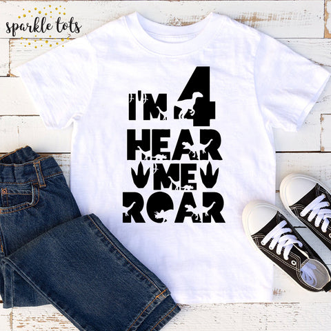 4th birthday t shirt, boys birthday shirt