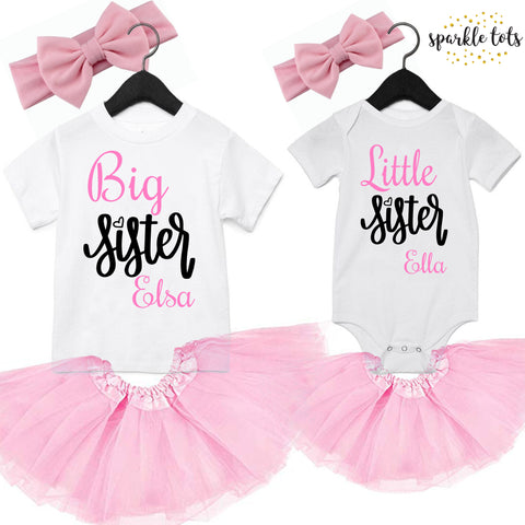 Big Sister Little Sister Outfits Sparkle Tots