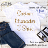Custom T-shirt, Personalised kids t shirt, Customized T-shirt, Girls, Boys, Birthday T Shirt,
