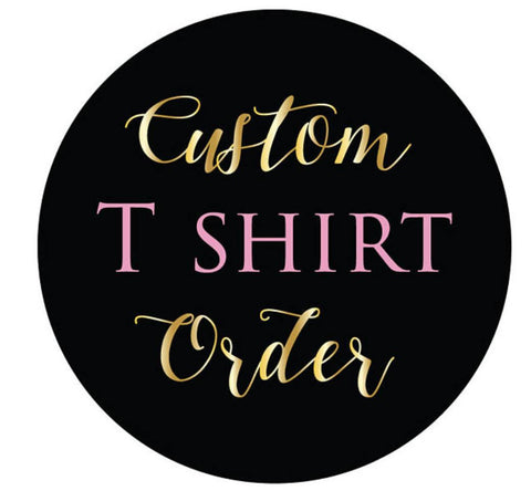 Custom adult Shirt, Personalised T-Shirt, Customised Top, Design your own shirt, Unisex custom personalised listing