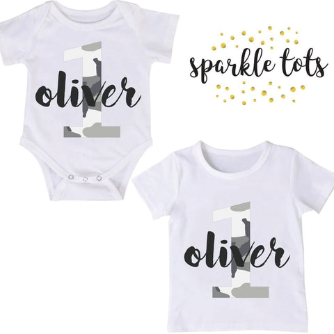 birthday baby grow, Personalised 1st Birthday Baby Grow, Boys Birthday Shirt, Boys Cake Smash Outfit, Boys Party Top, Boys Birthday Gifts, Any Age! Personalised
